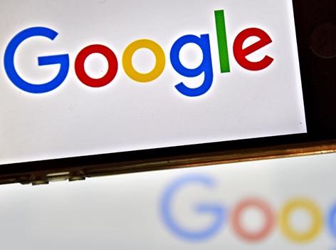 Google Logo am Handy