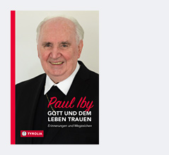 """Buchcover von Pauls Ibys """"Gott und dem Leben trauen. Erinnerungen und Wegzeichen"""""""