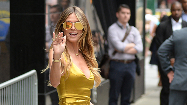 Heidi Klum in New York