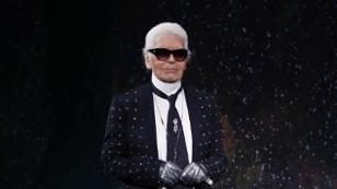 Karl Lagerfeld eröffnet Store in Wien