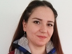 Die Englischlehrerin Raffif aus Syrien