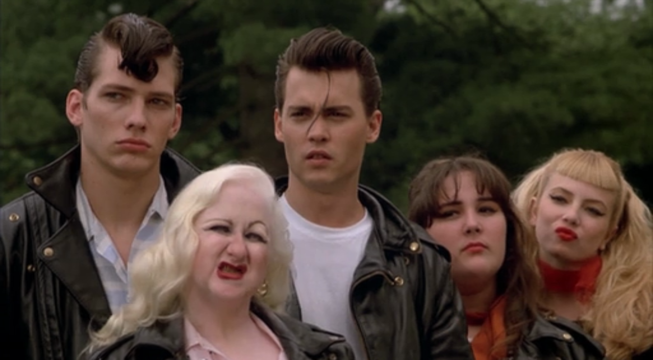 "Johnny Depp in 50er-Jahre-Outfit in ""Cry-Baby"""