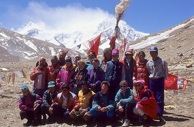 Miglieder der ersten österreichischen Frauenexpedition im Himalaya
