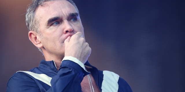 Morrissey performs at the Firefly Music Festival in Dover, Delaware, on June 19, 2015