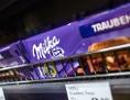 Schokolade im Supermarktregal