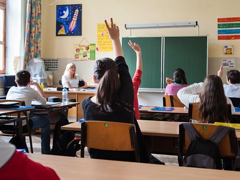 Neue Mittelschule in Wien