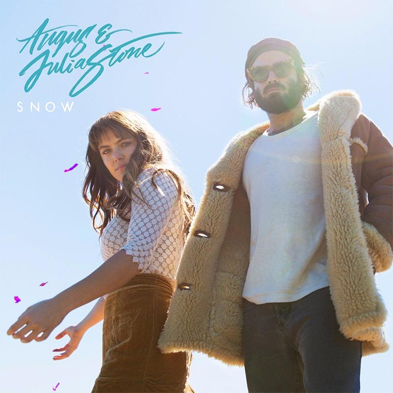 Angus & Julia Stone, Plattencover mit dem Duo