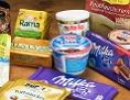Produktpalette: Milka, Rama, Nutella...