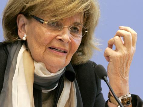 Präsidentin der Israelitischen Kultusgemeinde München und Oberbayern, Charlotte Knobloch