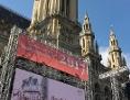 Wiener Rathausplatz 500 Jahre Reformation