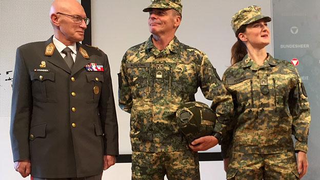 Neue Uniformen für das Österreichische Bundesheer