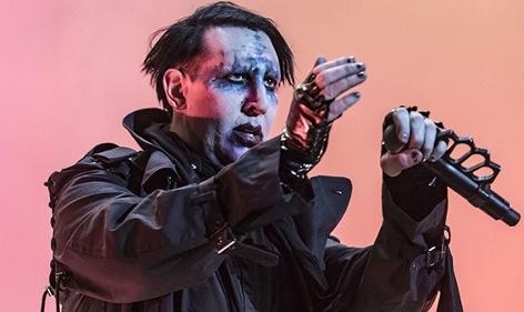 Marilyn Manson auf der Bühne