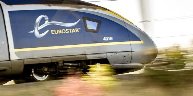 Der Eurostar Zug