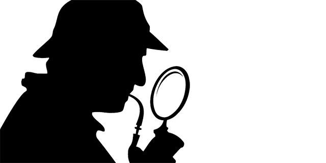 Silhouette Sherlock Holmes
