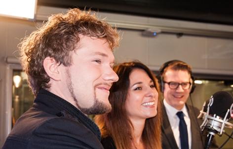 Thommy Ten und Amelie van Tass im Ö3-Wecker