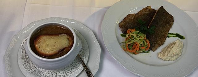 Preitenegg EG Zwiebelsuppe Fischfilet Donnerstag
