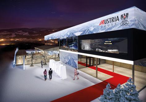 Austria Haus Olympische Spiele 2018