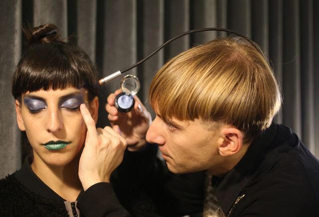 Moon Ribas und Neil Harbisson
