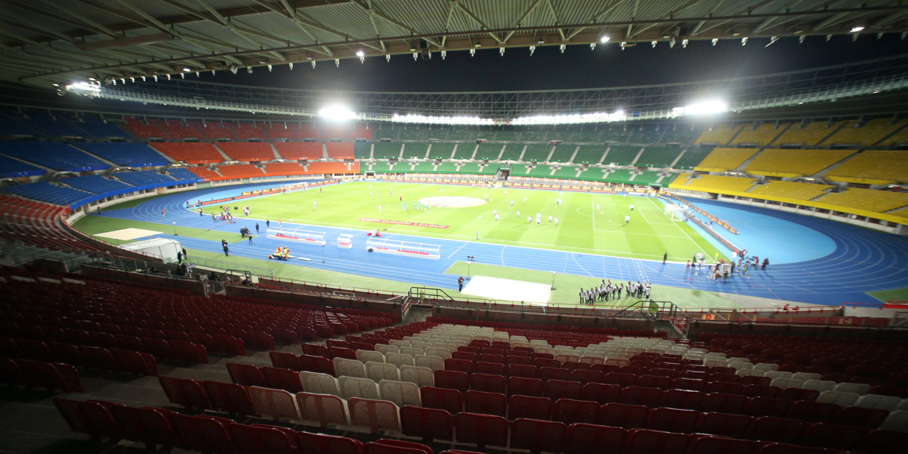 Das leere Ernst-Happel-Stadion