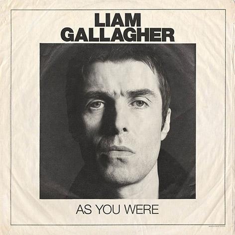 """CD-Cover von """"As You Were"""" von Liam Gallagher"""