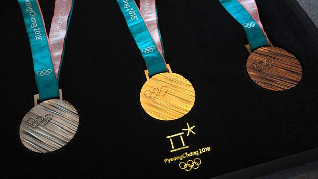 Medaillen Olympische Spiele 2018