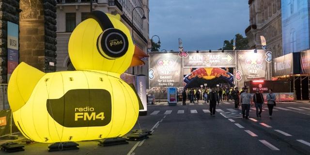 FM4 bei der Game City