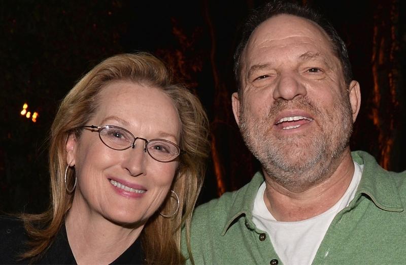 Harvey Weinstein und Meryl Streep