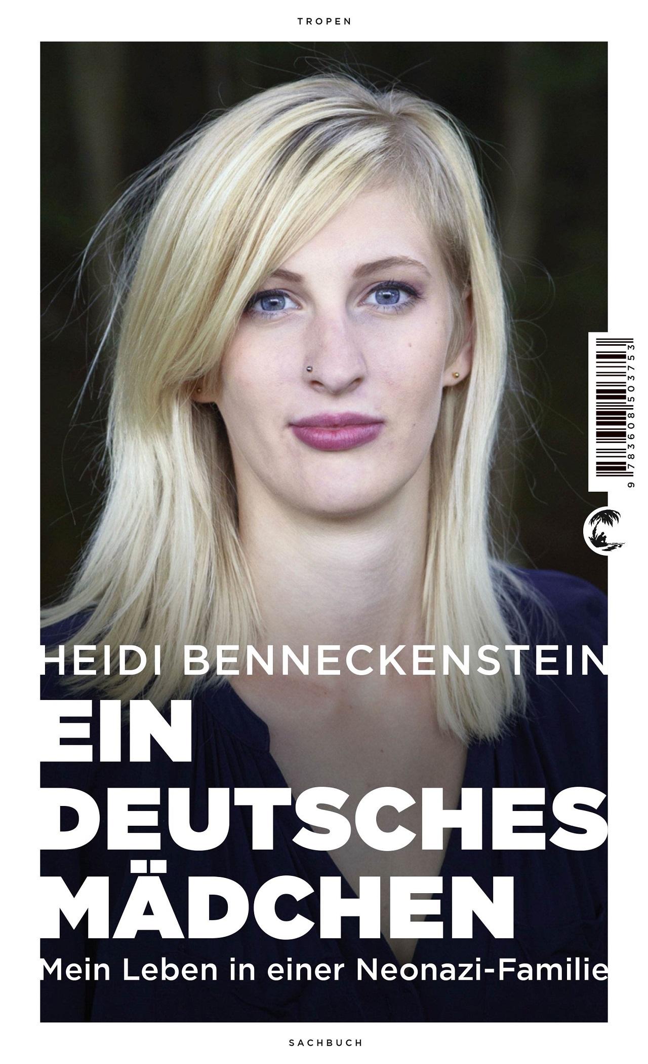 """Cover """"Ein Deutsches Mädchen"""""""
