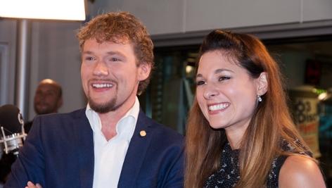 Die Mentalmagier Thommy Ten und Amelie van Tass haben am Freitag das Wahlergebnis prophezeit.