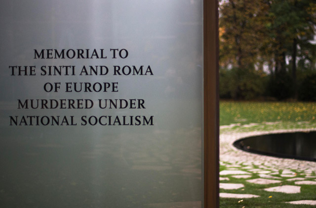 Gedenkstätte für ermordete Roma und Sinti in Berlin