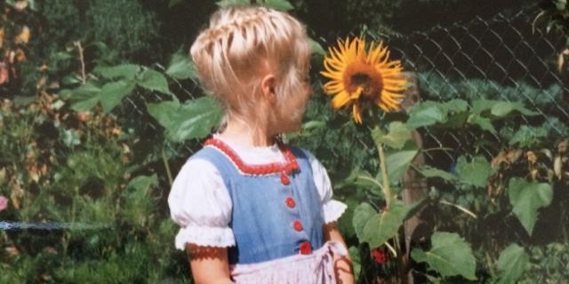 Heidi Benneckenstein als Kind
