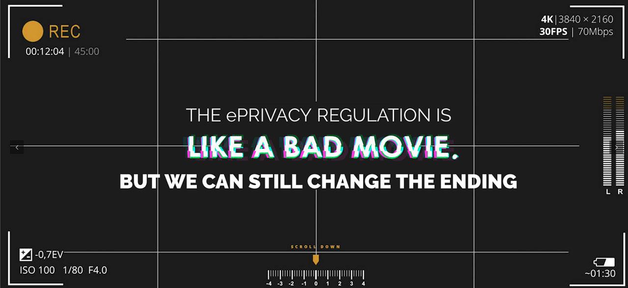 Bilder der Videokampagne gegen E-Privacy