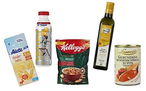 Die bemängelten Produkte im Überblick
