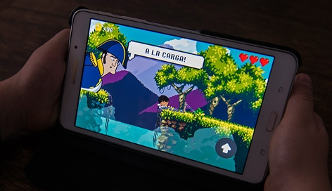 Videogame am Smartphone