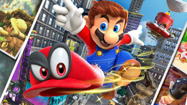 "Screenshots  ""Super Mario Odyssey"""