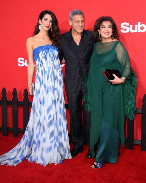 Amal Cooney, George Clooney, Baria Alamuddin