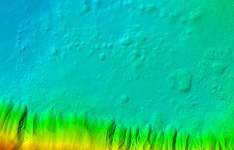 Scan Detail vom Hallstätter See
