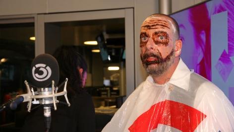 Last Minute Halloween-Maske