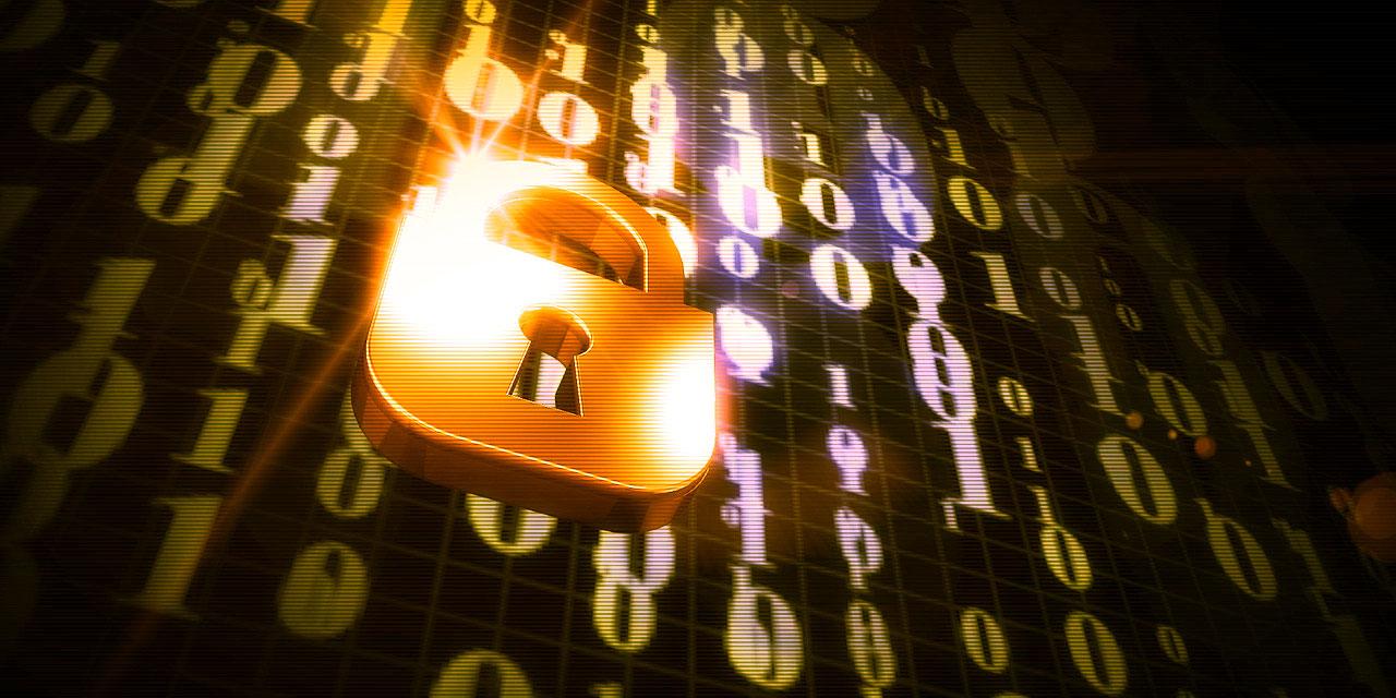 Schloss vor Daten Stichwort E-Privacy
