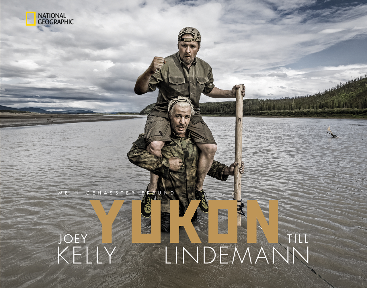 Till Lindemann und Joey Kelly auf Abenteuer