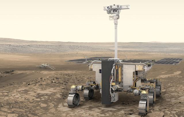 Der ExoMars-Rover