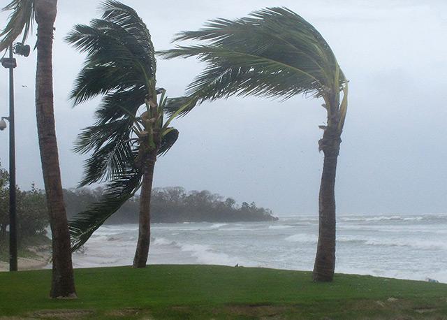 Der Zyklon Evan verursachte im Dezember 2012 auf Fiji schwere Schäden