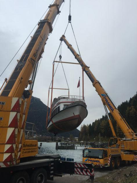 Europas erstes Spielschiff kommt am Achensee