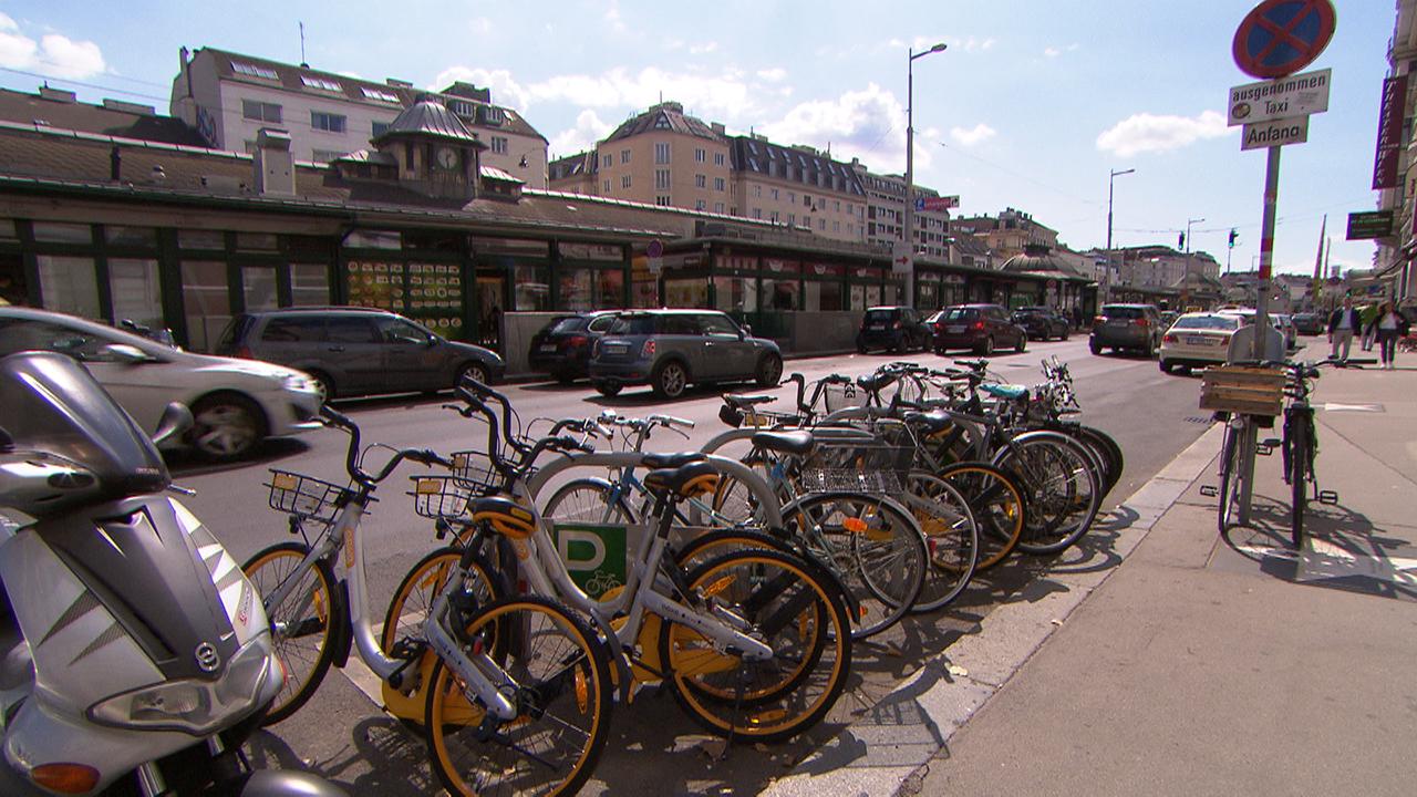 Leihräder in Wien