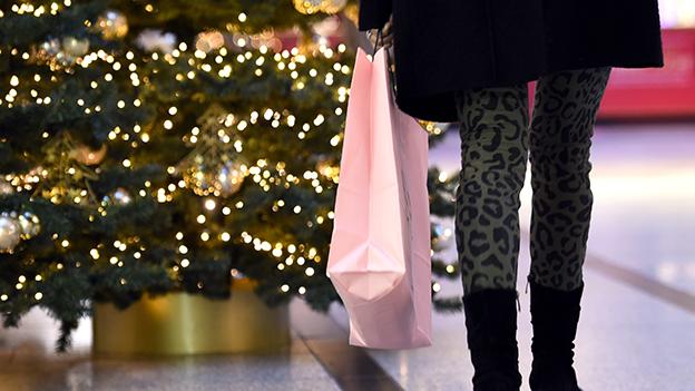 Weihnachten Shopping