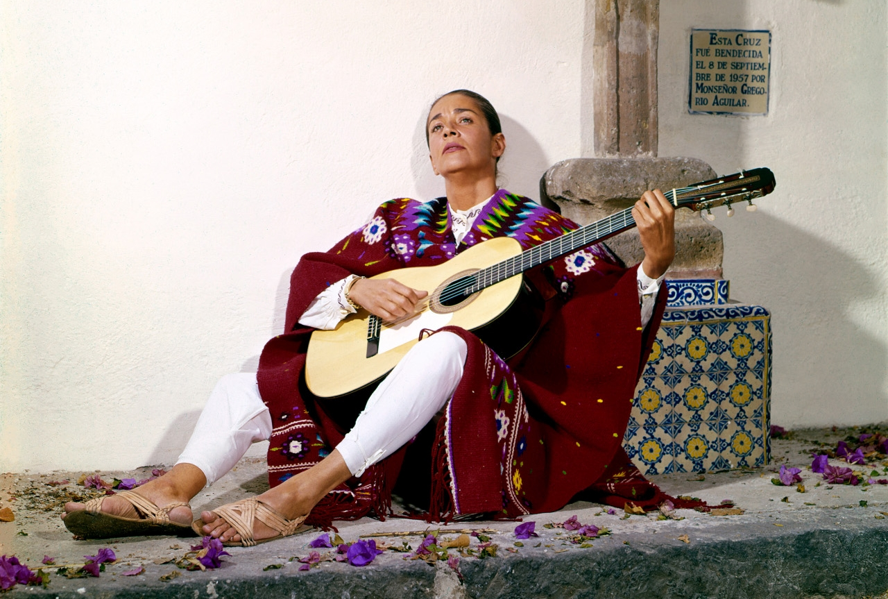 Die Sängerin Chavela Vargas