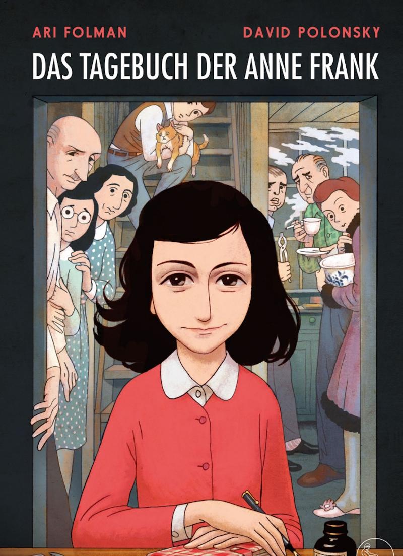 Cover graphic diary Das TAgebuch der Anne Frank