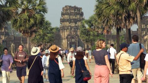 Im Brennpunkt  Hotel Kambodscha
