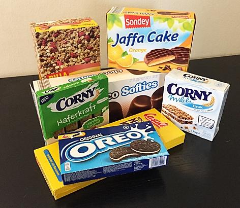 Produkte, die Isoglukose enthalten