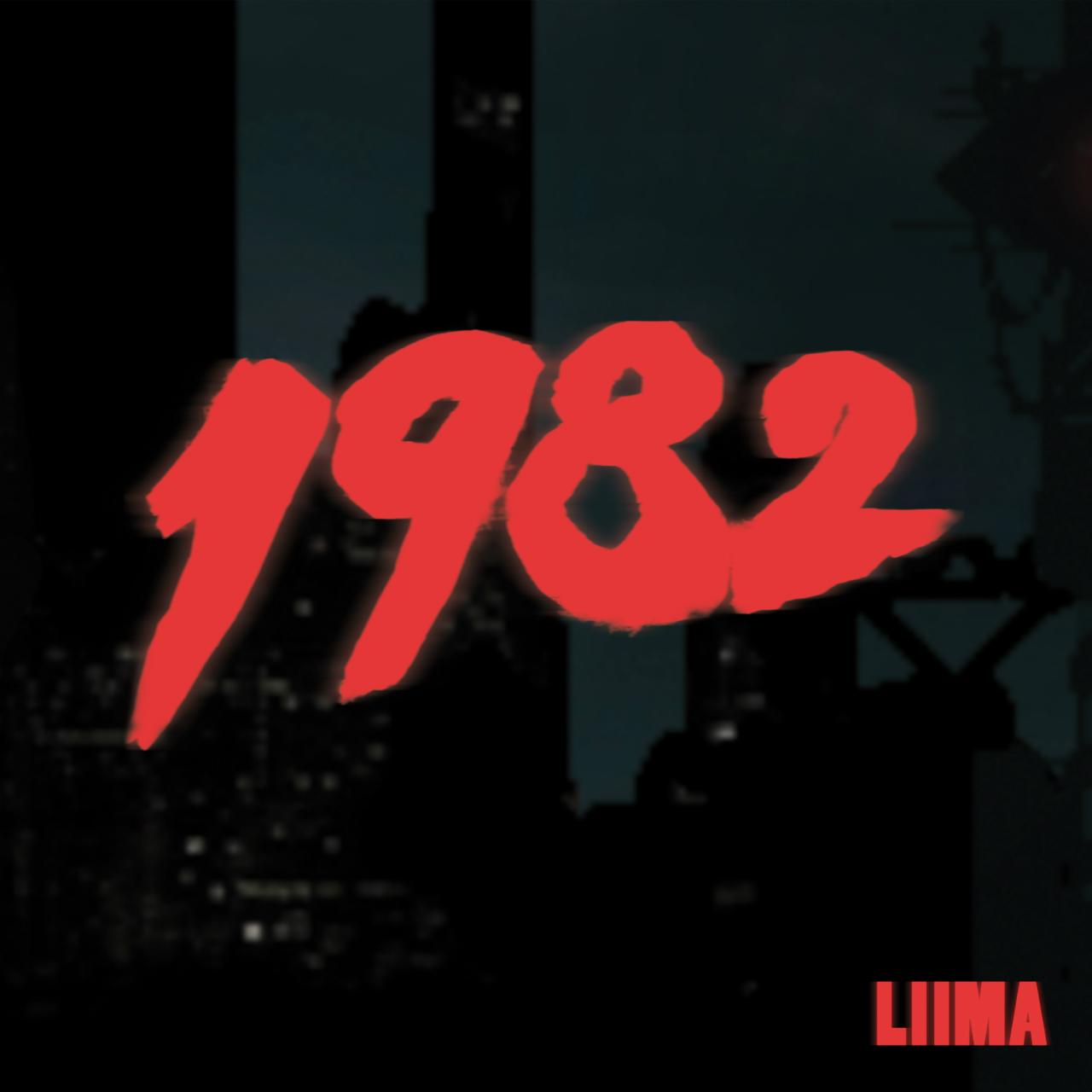 """Cover der Platte """"1982"""" von der Band Liima"""
